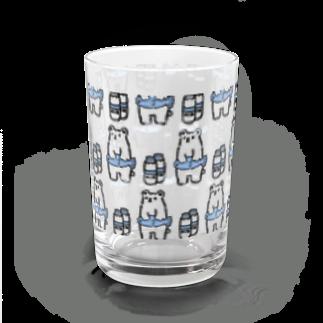 美味しいペンギンのShirokumaミルク Water Glass