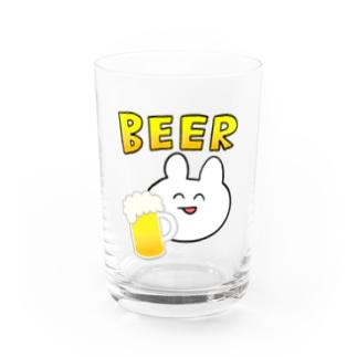 うさぎBEER Water Glass
