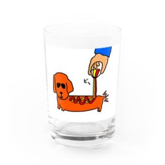アメリカンドッグ Water Glass