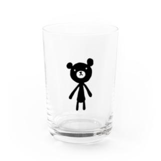 MONOKUMA-Black Water Glass