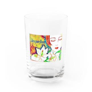 純粋な花の様にシリーズ2 Water Glass