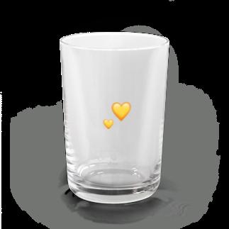 yellowloveのyou got heart of gold Water Glass