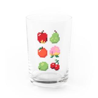 ドット絵フルーツ タテ Water Glass