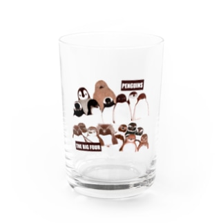 PENGUINS THE BIG FOUR LIVE! Water Glass