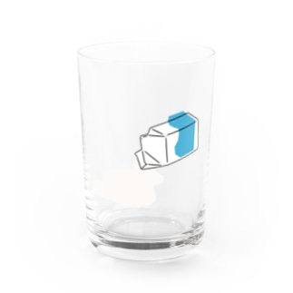 MILK_B Water Glass