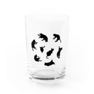 NOBODY754のKitties (Black Water Glass
