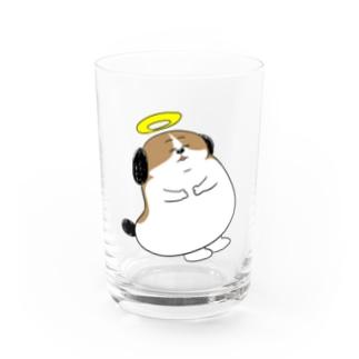 もじゃまる昇天 Water Glass
