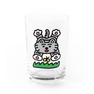 ぷりけつキャット Water Glass