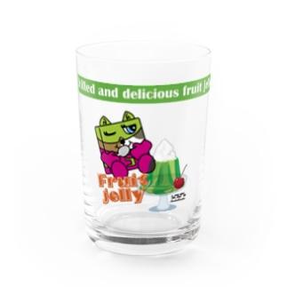 NK_3cats_Scoon_jg Water Glass