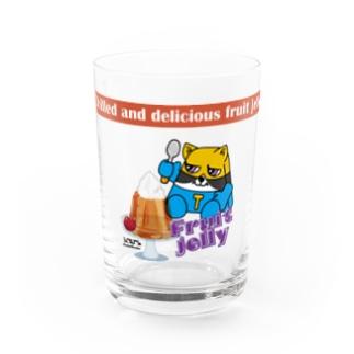 NK_3cats_Tory_jg Water Glass