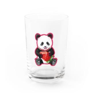 苺パンダヴァンパイア Water Glass