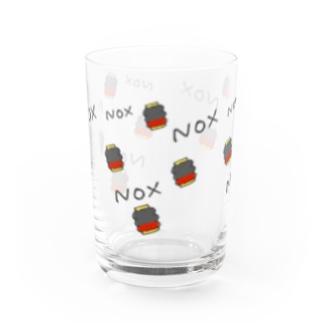 〈apex〉ガストラップ柄グラス Water Glass