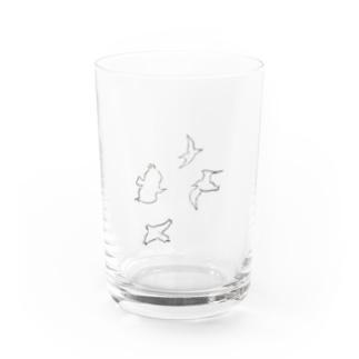 とりとりとりとり Water Glass