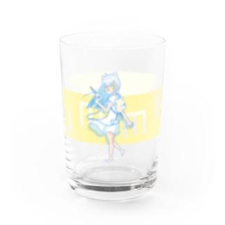 しろくま少女と夏【FULL】 Water Glass