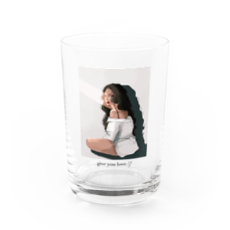 give you Love.♡ Water Glass