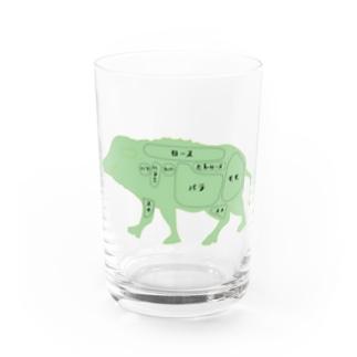 ジビエを語ろう Water Glass