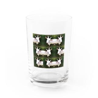 zakkaya 雑貨屋 孵 kaeruの遊ぼ。山羊。and more... Water Glass