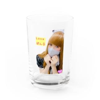 Love ぽん子 Water Glass