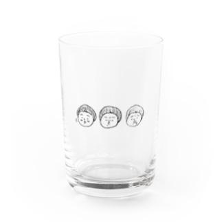 肉マンガール Water Glass