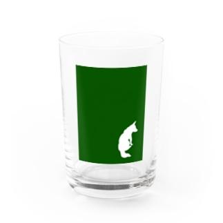 まつのしばいぬさん Water Glass