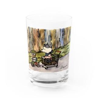 KANNA★ショッピングカーGOGO!! Water Glass