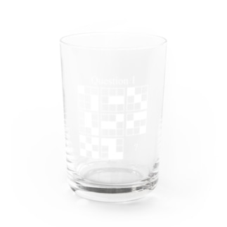 Q1(白インク) Water Glass