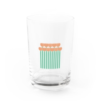 Flower17 Water Glass