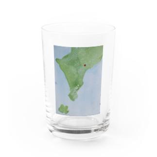 ザキヤマ カナコの無い国の地図1 Water Glass