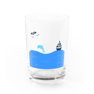 Yuuの【枠なし】yuuオリジナルイラスト13 夏の景色 Water Glass