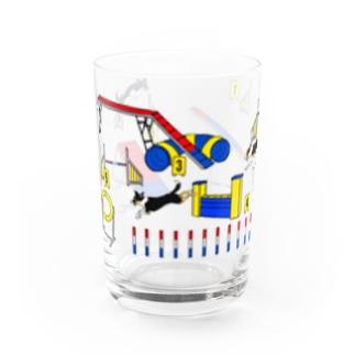 アジリティードッグ ボーダーコリー トライ Water Glass