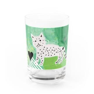 ユキヒョウちゃん Water Glass