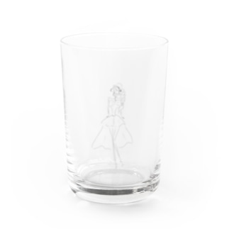 Girl Water Glass