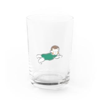 赤ちゃんずりばい Water Glass