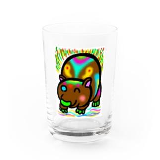 dorihopuのウォンバット2 Water Glass