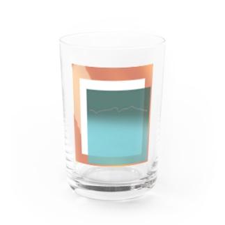 Mountain Water Glass