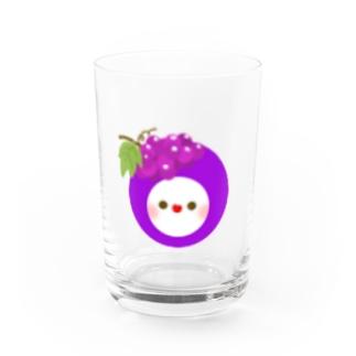 🍇フルーちゅん Water Glass