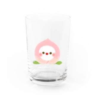 🍑フルーちゅん【もも2】 Water Glass
