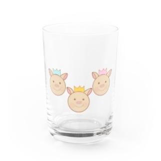 yuuオリジナルイラスト23 3匹のこぶた Water Glass