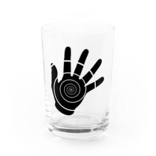 日本人のくるくる Water Glass