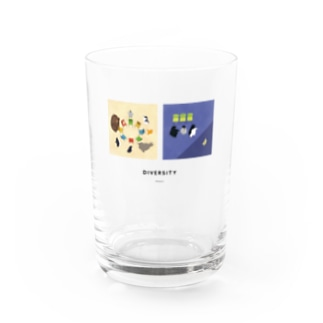 Do/Don't 違いを尊重する Water Glass