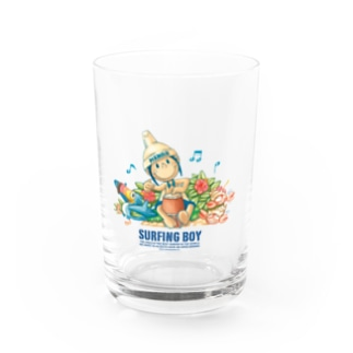 Surfing Boy ジャンベ グラス Water Glass