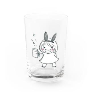 とりあえずビール Water Glass