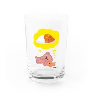 ポコタと弟 Water Glass