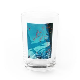 元彼と見た金魚 Water Glass