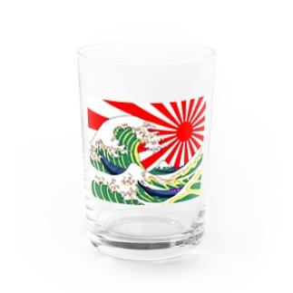 天晴れ富嶽三十六景 Water Glass