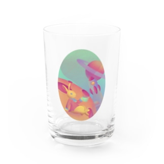 さがみ屋のspace rabbit  Water Glass
