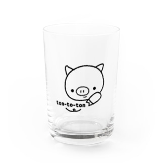 tontoろご Water Glass