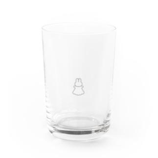 おばけのうさぎ Water Glass