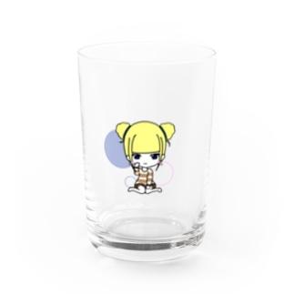 るももものプラムちゃん Water Glass