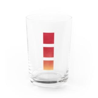 りんご3コ分 Water Glass